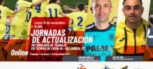 Cartel Jornada Actualización Metodología Villarreal CF Covid-19
