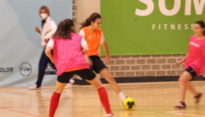 9 nov Entrenamiento Selecció sub19 futsal Valenta Alfafar Lucía Garibo