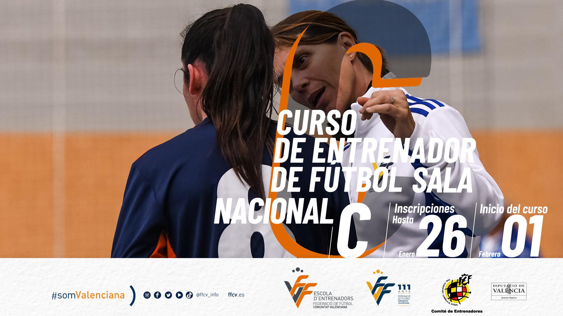 banner curso Nacional C futsal
