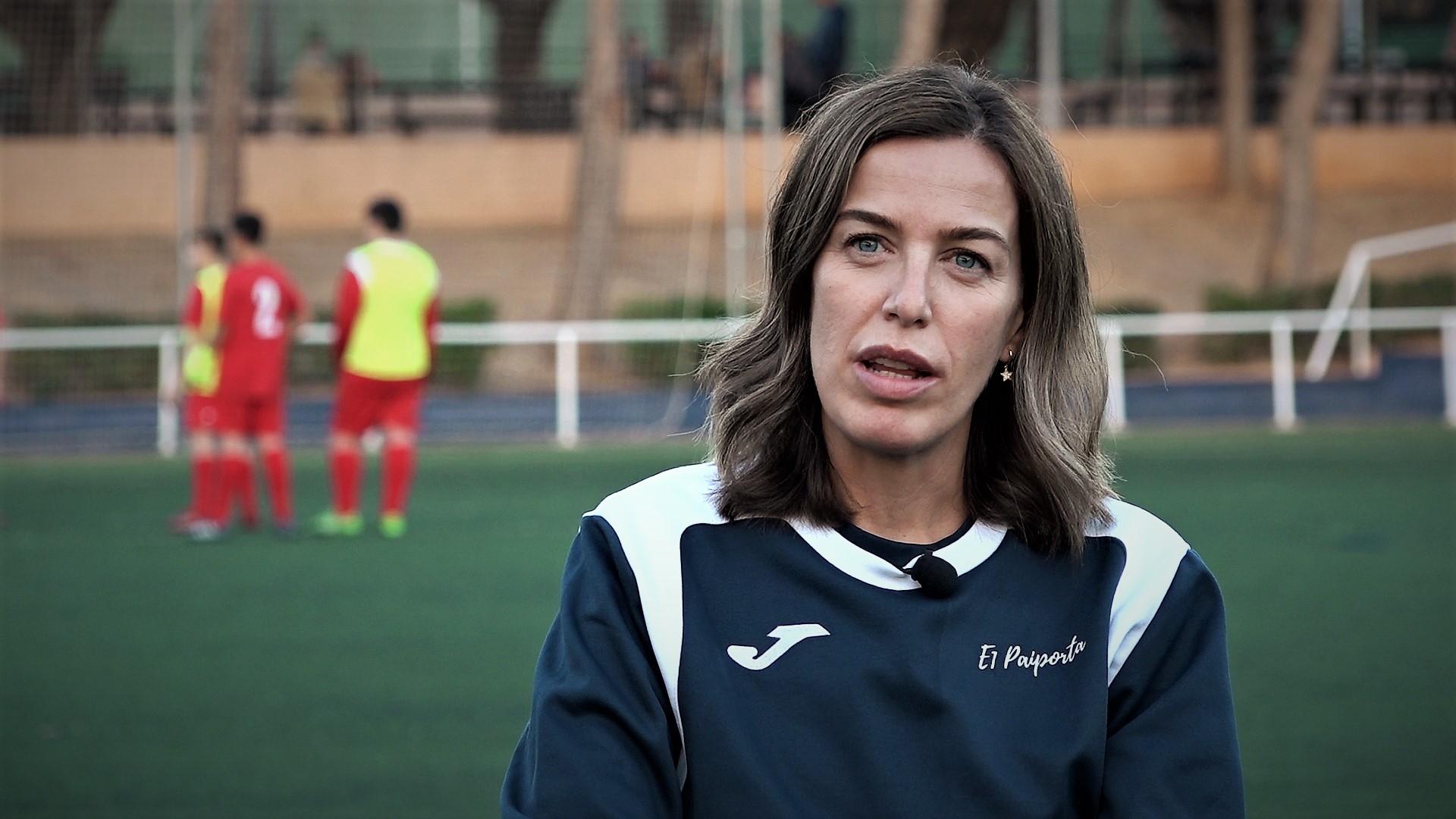 6 dic Santa Tortajada, coach educativo E1 Valencia
