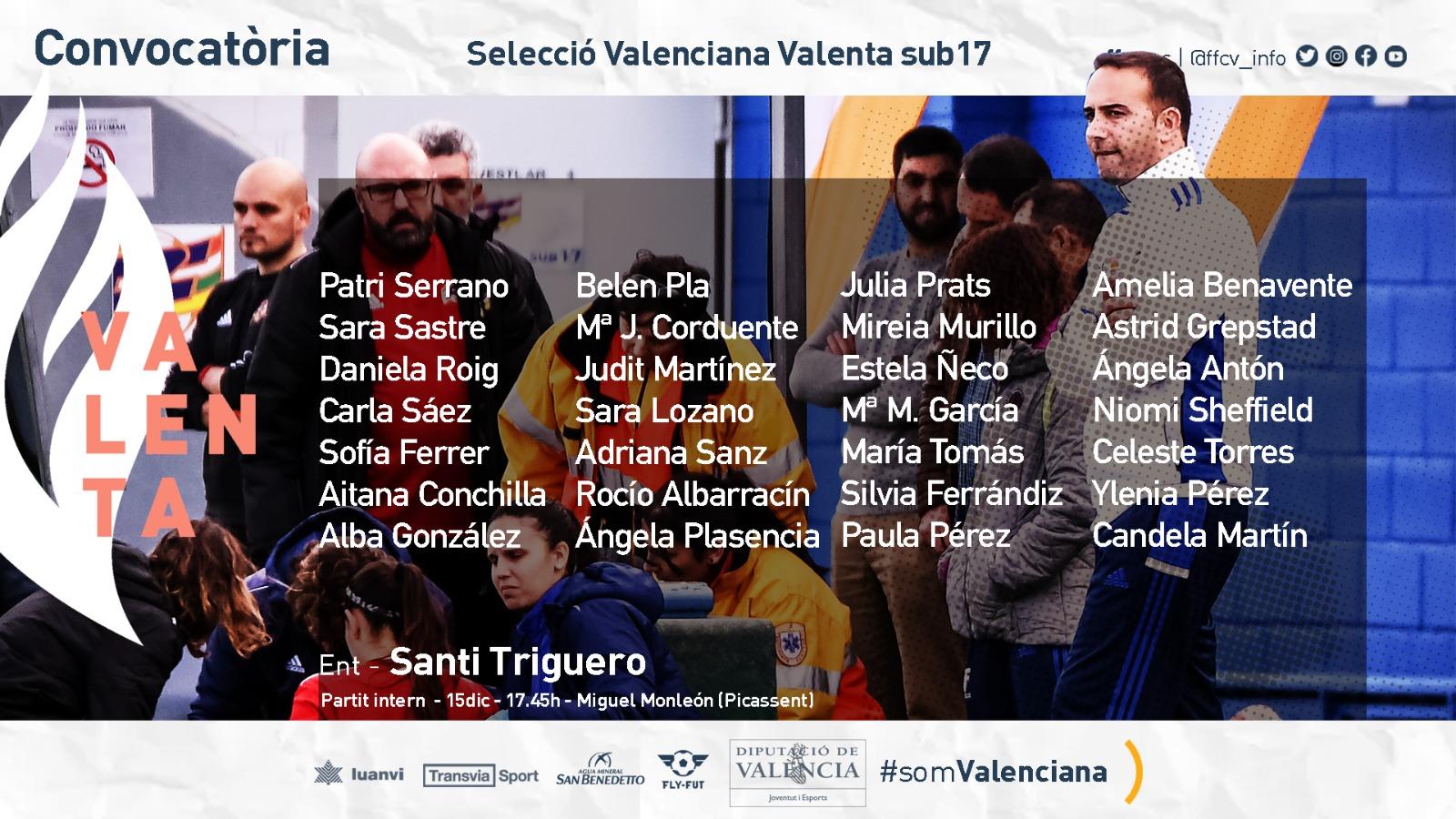 11 dic Tercera convocatoria Triguero sub17