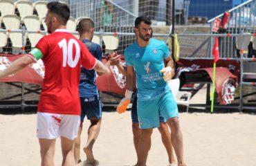 José Carlos Caballero, portero Selecció futbol playa