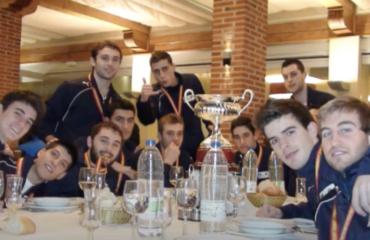 Campeones de España sub19 Segovia fútbol sala