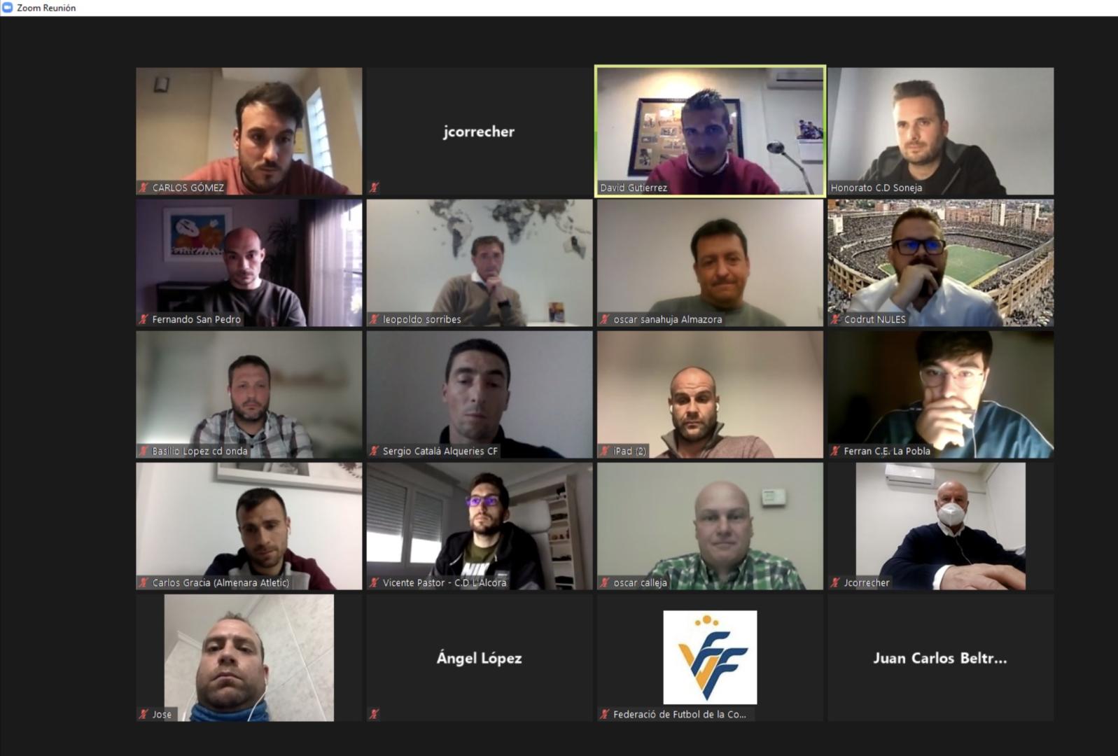 24 feb Reuniones Comité entrenadores Regional Preferente
