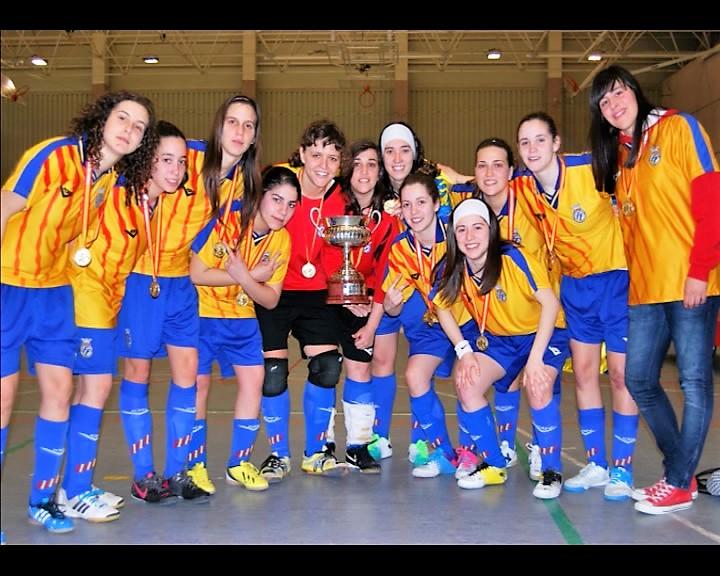 Selecció Valenciana sub23 Campeona de España en 2013
