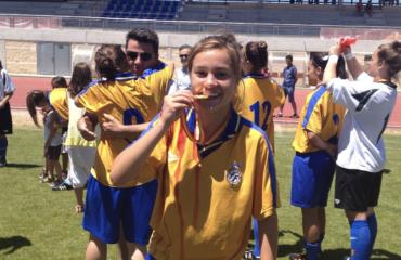 Nerea Pérez campeona de España Selecció Valenciana