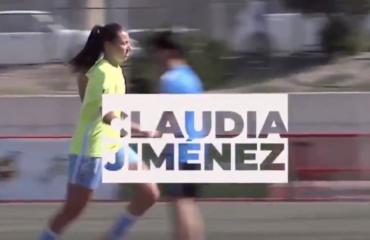 Claudia Jiménez, Valenta pel món