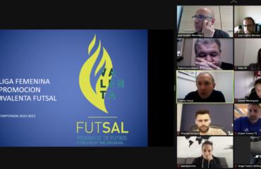 27 abr Reunión telemática Área Valenta con clubes femeninos futsal