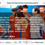 Convocatoria sub16 Lafora Picassent provincial Valencia