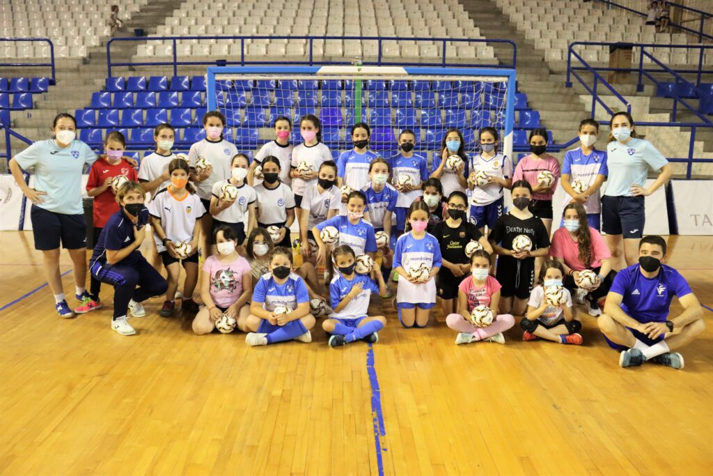 31 may Clinic Valenta futsal en Alzira