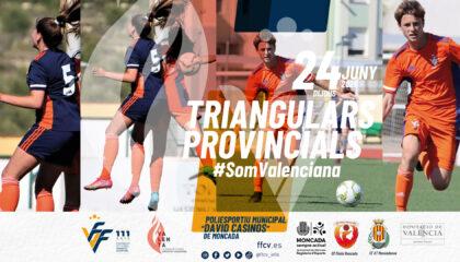 Banner Triangular provincial Moncada junio 2021