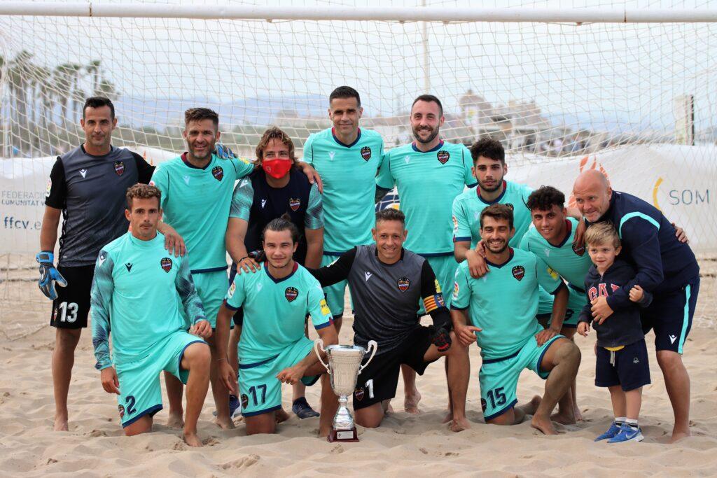 5 jun Levante UD campeón Liga Autonómica fútbol playa en Patacona