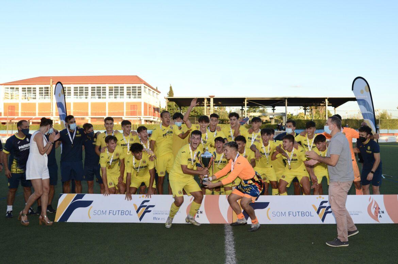 Villarreal CF, campeón Liga Autonómica Cadete final en l'Eliana