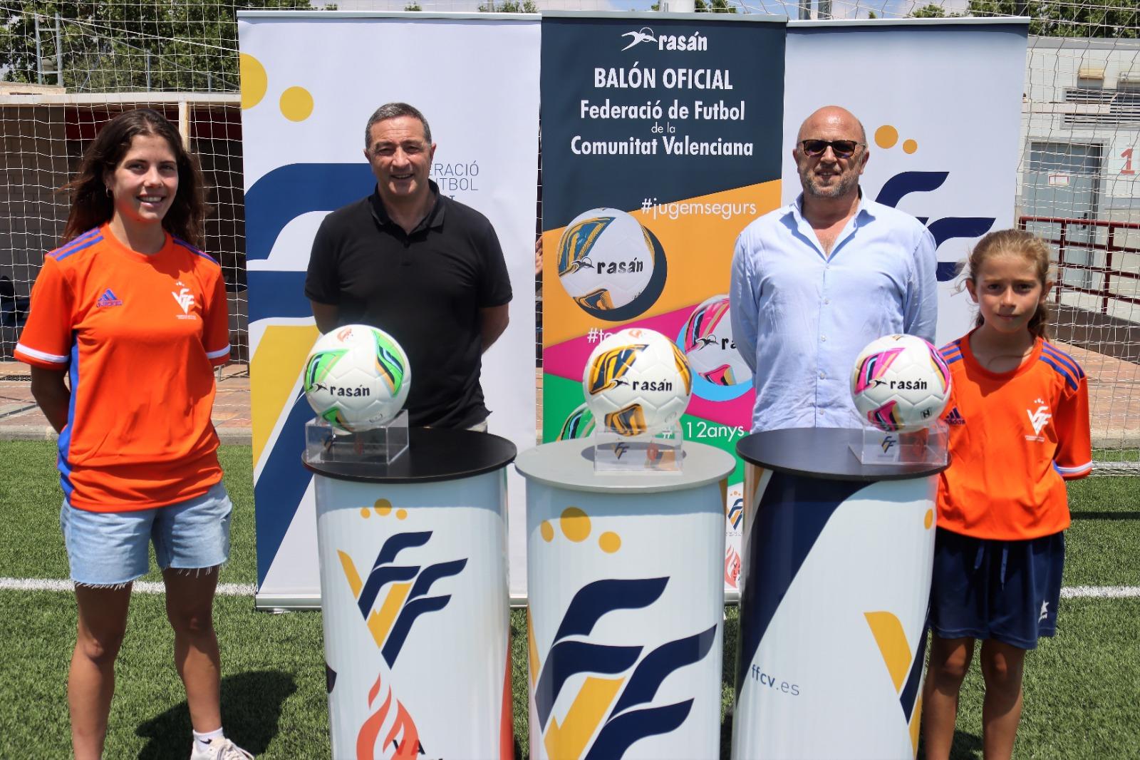 30 jun Presentación balones Rasán para el fútbol FFCV 2021/2022