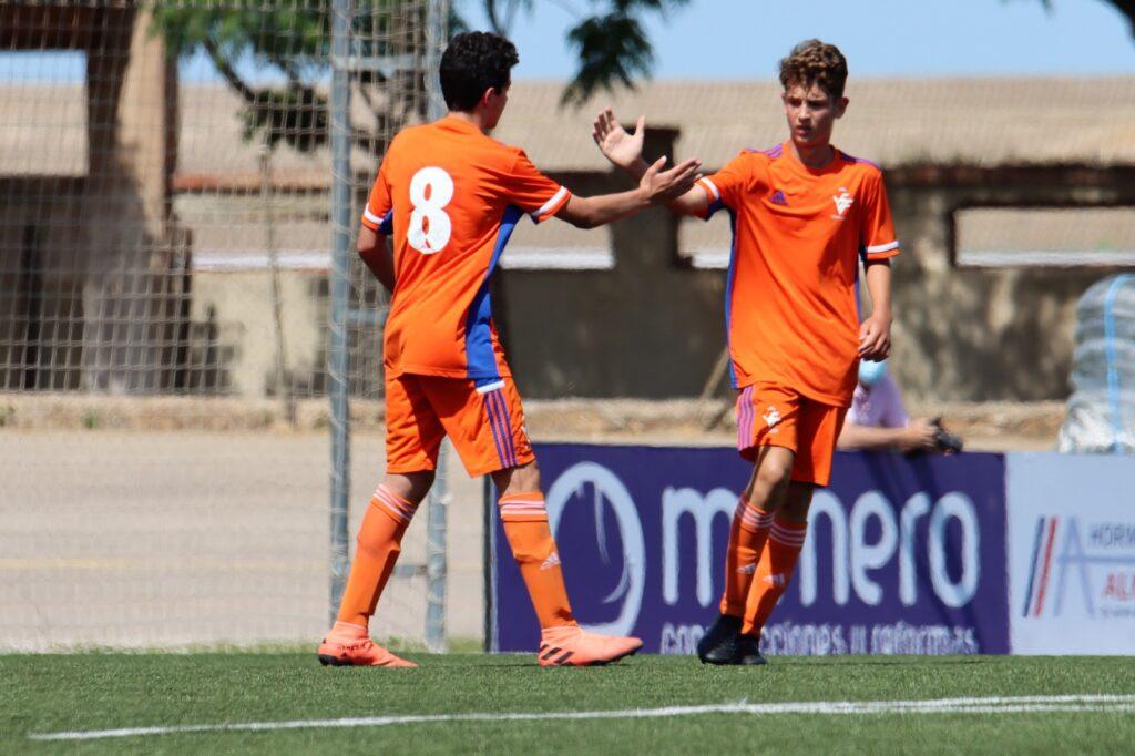2 jun Celebración gol sub14 Selecció Valenciana Vall de Uxó