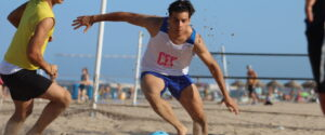28 jul Entrene Selecció juvenil fútbol playa Patacona