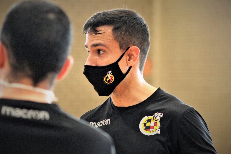 Pablo Delgado árbitro futsal