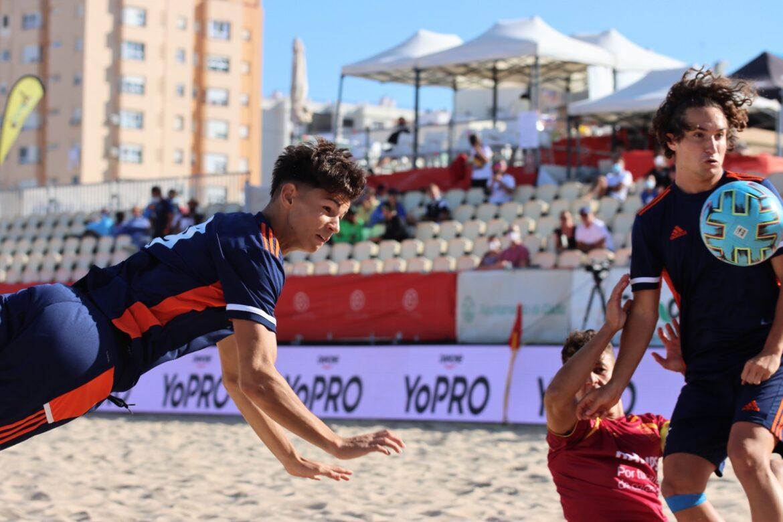31 jul CNSA Cádiz Selecció sub19 fútbol playa